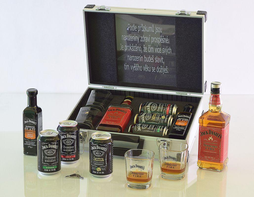 Jack Daniel's Fire AL Koffer Contraband