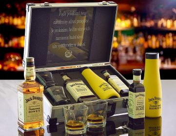 Jack Daniel's Honey Thermo AL Koffer