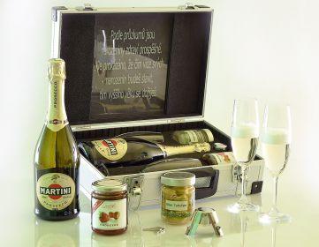 Martini Prosecco AL Koffer