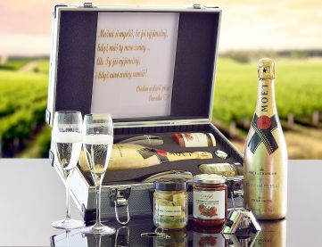 Moët & Chandon Imperial Gold AL Koffer