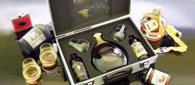 Kisten mit Rum